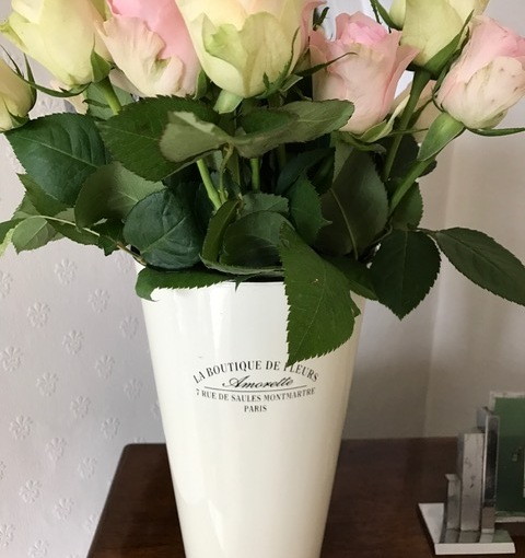Aldi Flowers and Homebargains Vase