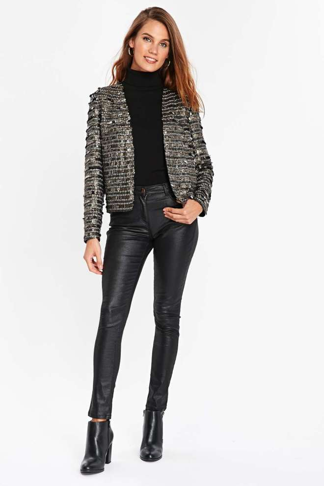 sequin jackets